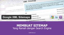 Membuat Sitemap Yang Ramah Dengan Search Engine