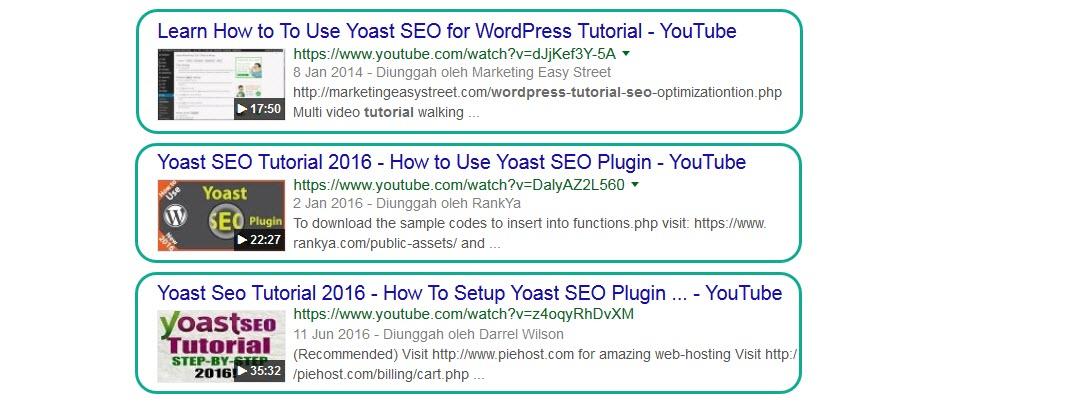 Bagaimana Cara Mencari Video Keywords itu