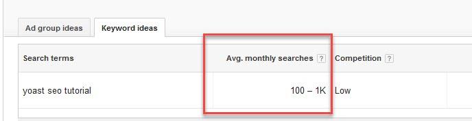 Minim hasil pencarian 300 perbulan