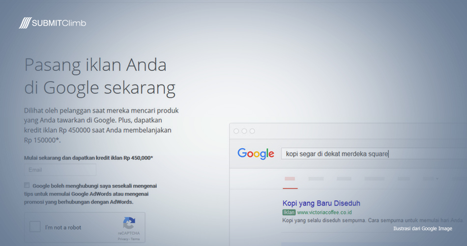 Cara Pasang Iklan Di Google AdWords