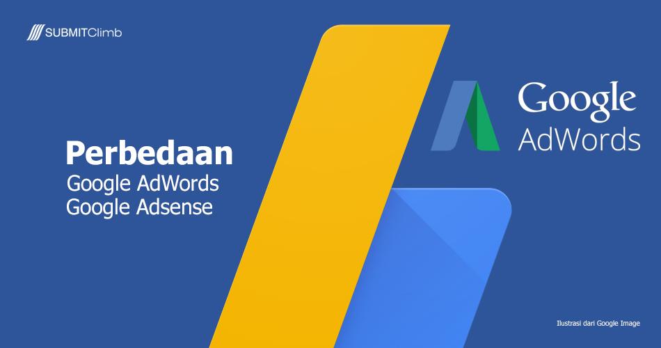 Perbedaan Google AdWords Dan Google Adsense