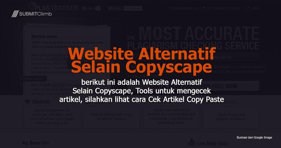 Website Alternatif Selain Copyscape