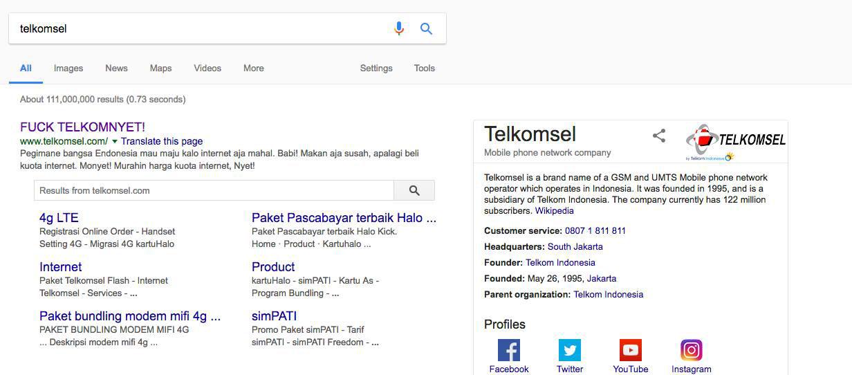 Telkomsel dibobol hacker