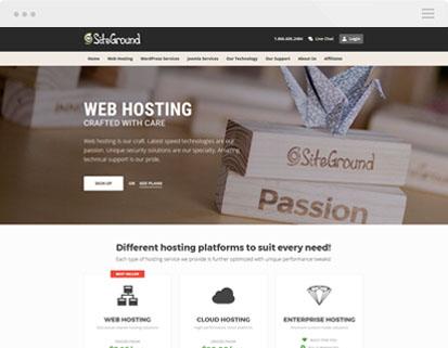 siteground website