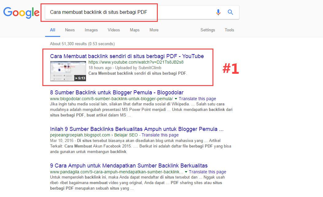 Cara Membuat Backlink di Situs Berbagi PDF