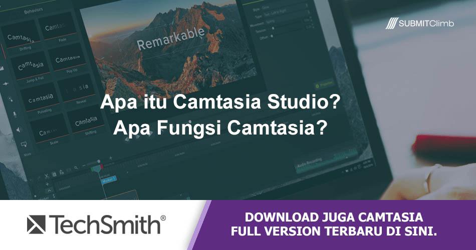 Apa Itu Camtasia Studio