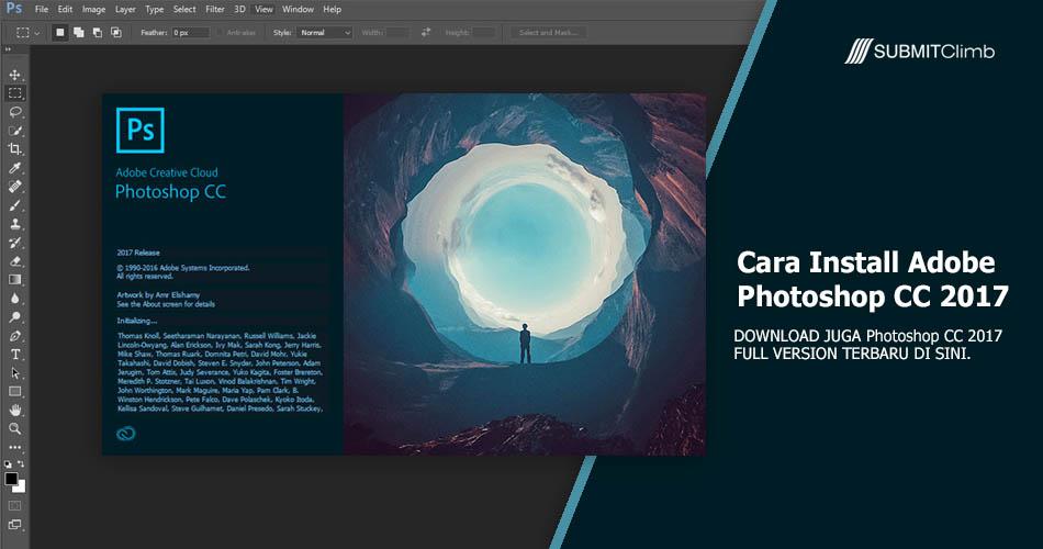 Cara Install Adobe Photoshop CC 2017
