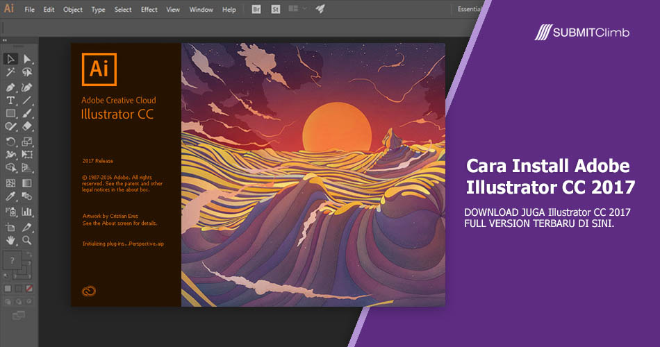 Apa Fungsi Adobe Illustrator Dan Cara Install Adobe Illustrator CC 2017