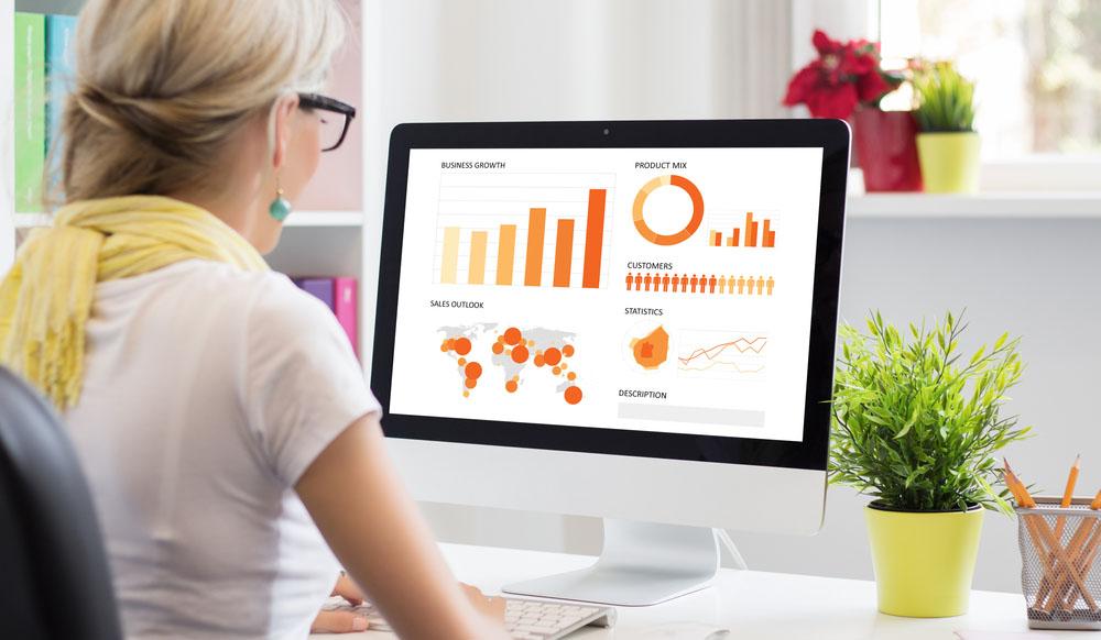 Visualisasi data mudah dimengerti