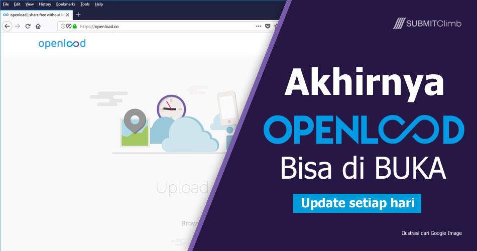 Cara Membuka Situs Openload Yang Di Blokir