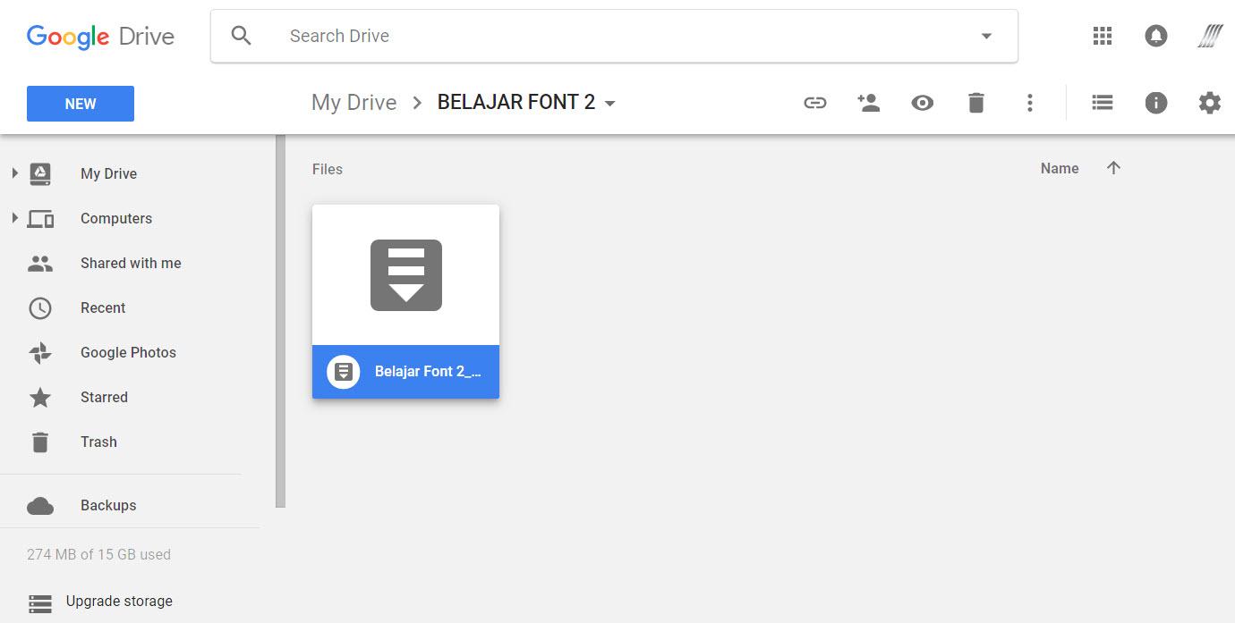 Limit Google drive 2