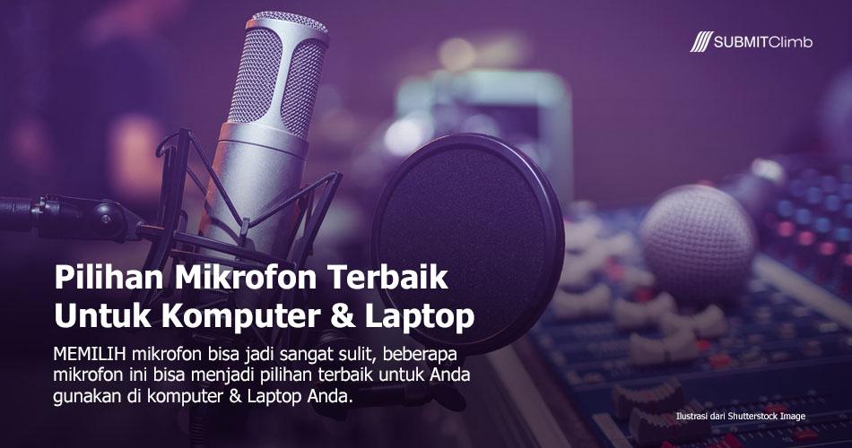 Memilih Mikrofon Untuk Komputer
