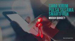 Cara Kirim Pulsa Sesama Smartfren Saat Kehabisan Kuota Internet
