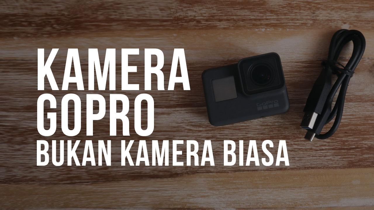 Kamera GoPro Bukan Kamera Biasa, GoPro Keluar Angkasa Dan Masuk Lahar