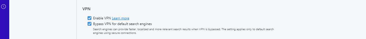 Langkah Ketiga Opera VPN