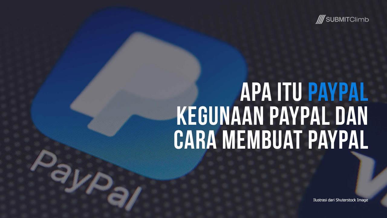Apa Itu Paypal