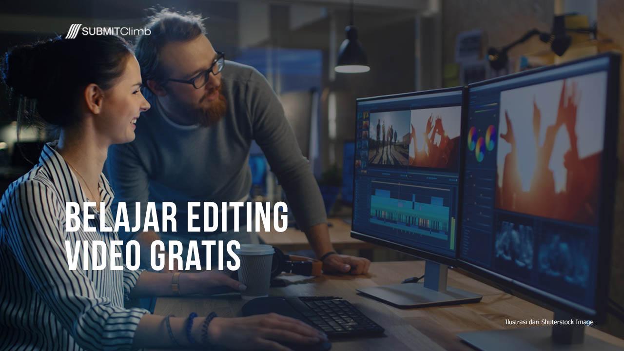 Belajar Editing Video Gratis Dari Daftar Website Ini