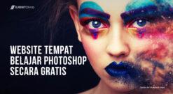 Website Tempat Belajar Photoshop Gratis