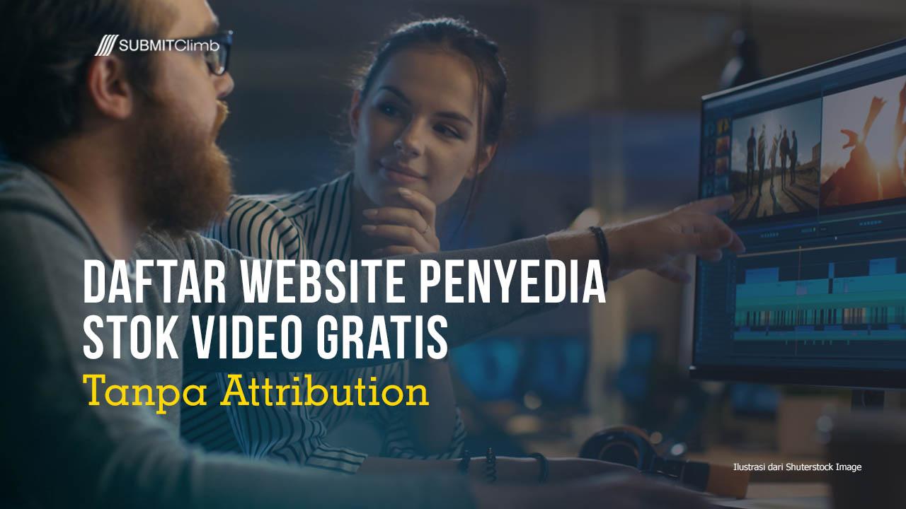 Daftar Website Penyedia Stok Video Gratis – Daftar Free Stock Footage