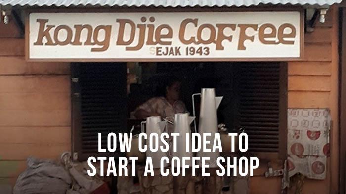 Usaha Kedai Kopi dengan dana terbatas