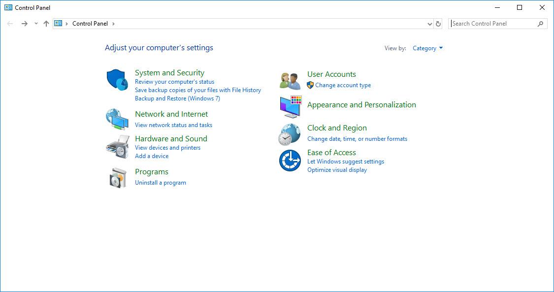 klik Apperance Personalization