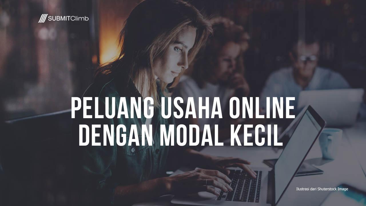 Peluang Usaha Online Dengan Modal Kecil