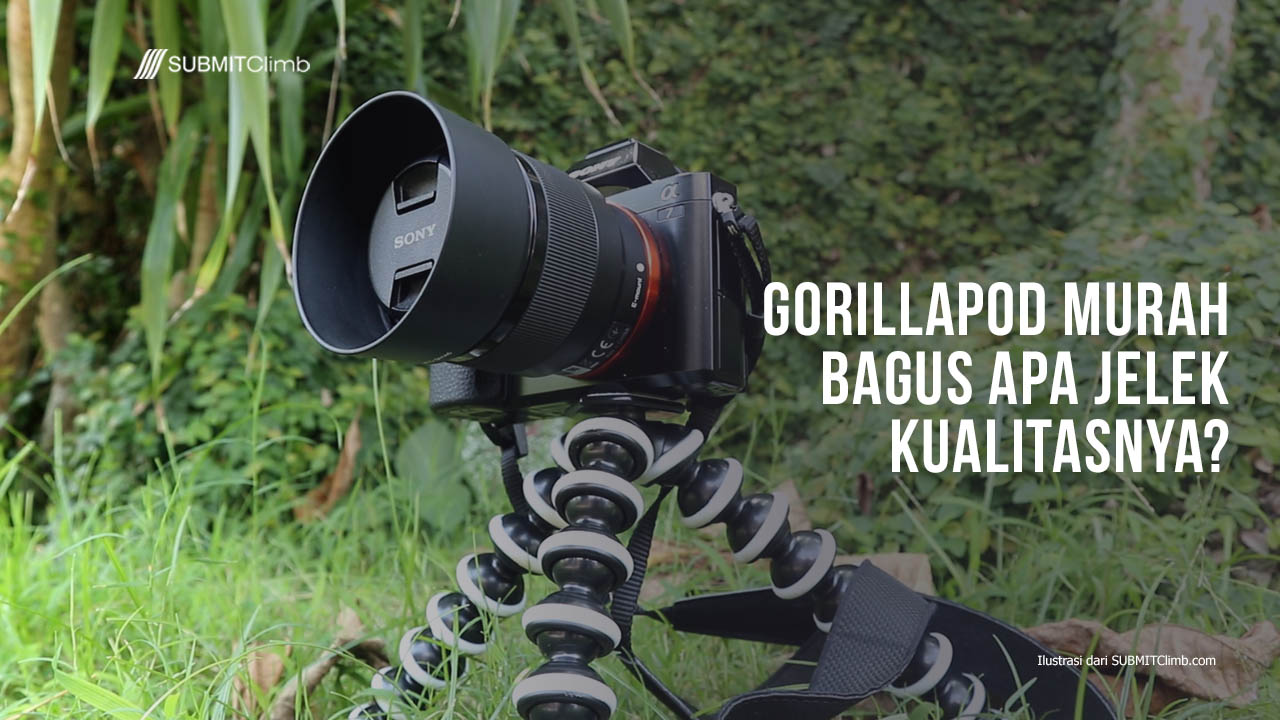 Review Gorillapod Murah Bagus Apa Jelek Kualitiasnya