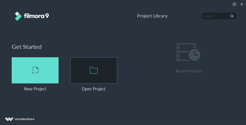 Wondershare Open Project 1