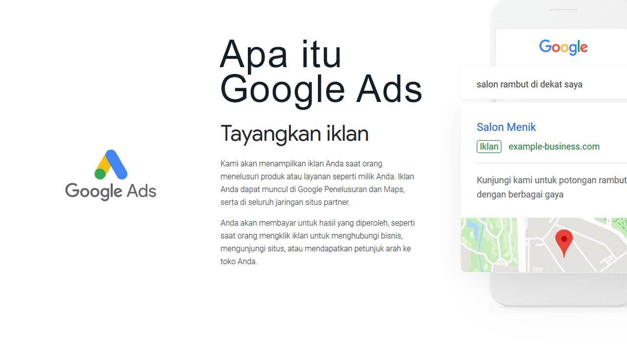 Apa Itu Google Ads – Cara Menggunakan Google Ads Untuk Bisnis