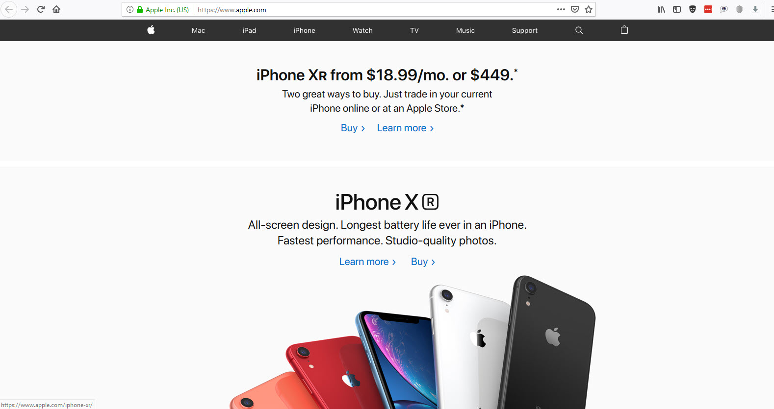 Apple Produk Terpopuler