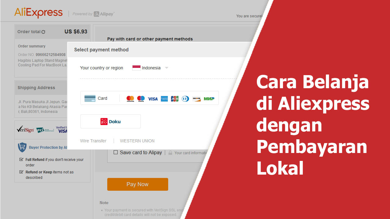 Cara Belanja Di Aliexpress Dengan Pembayaran Bank Lokal