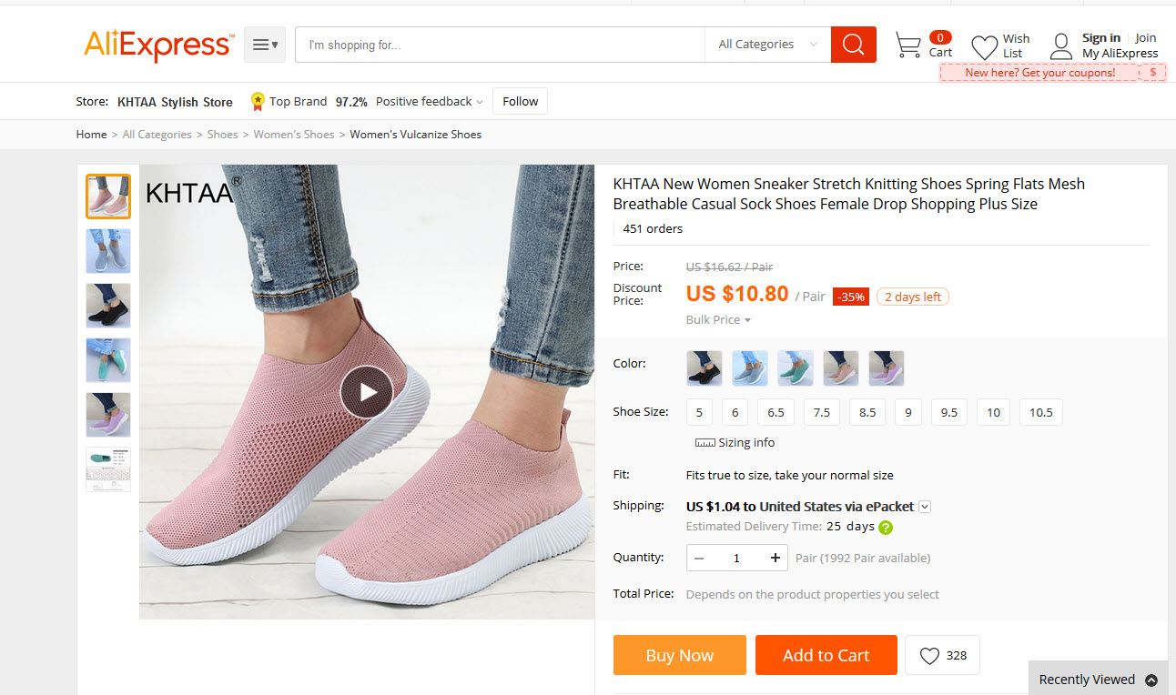 women sneaker
