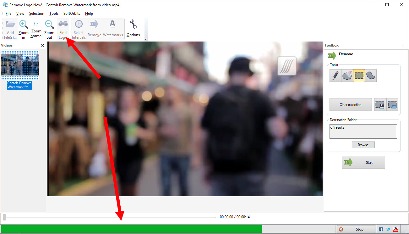 remove logo from video 1
