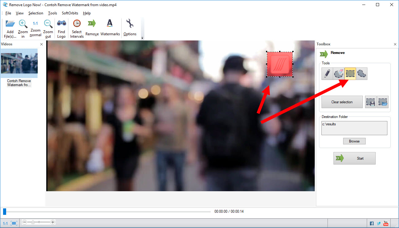 remove logo from video 2