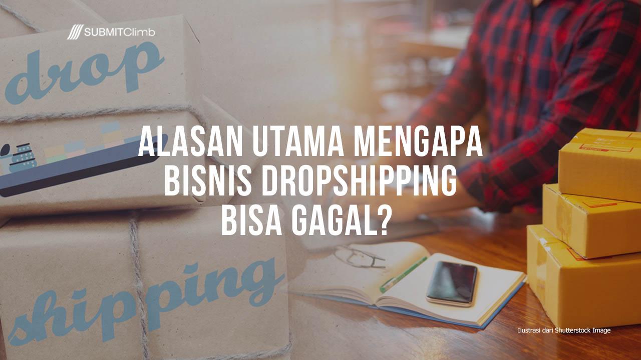 Mengapa Bisnis Dropshipping Gagal – Bagaimana Cara Menghindarinya