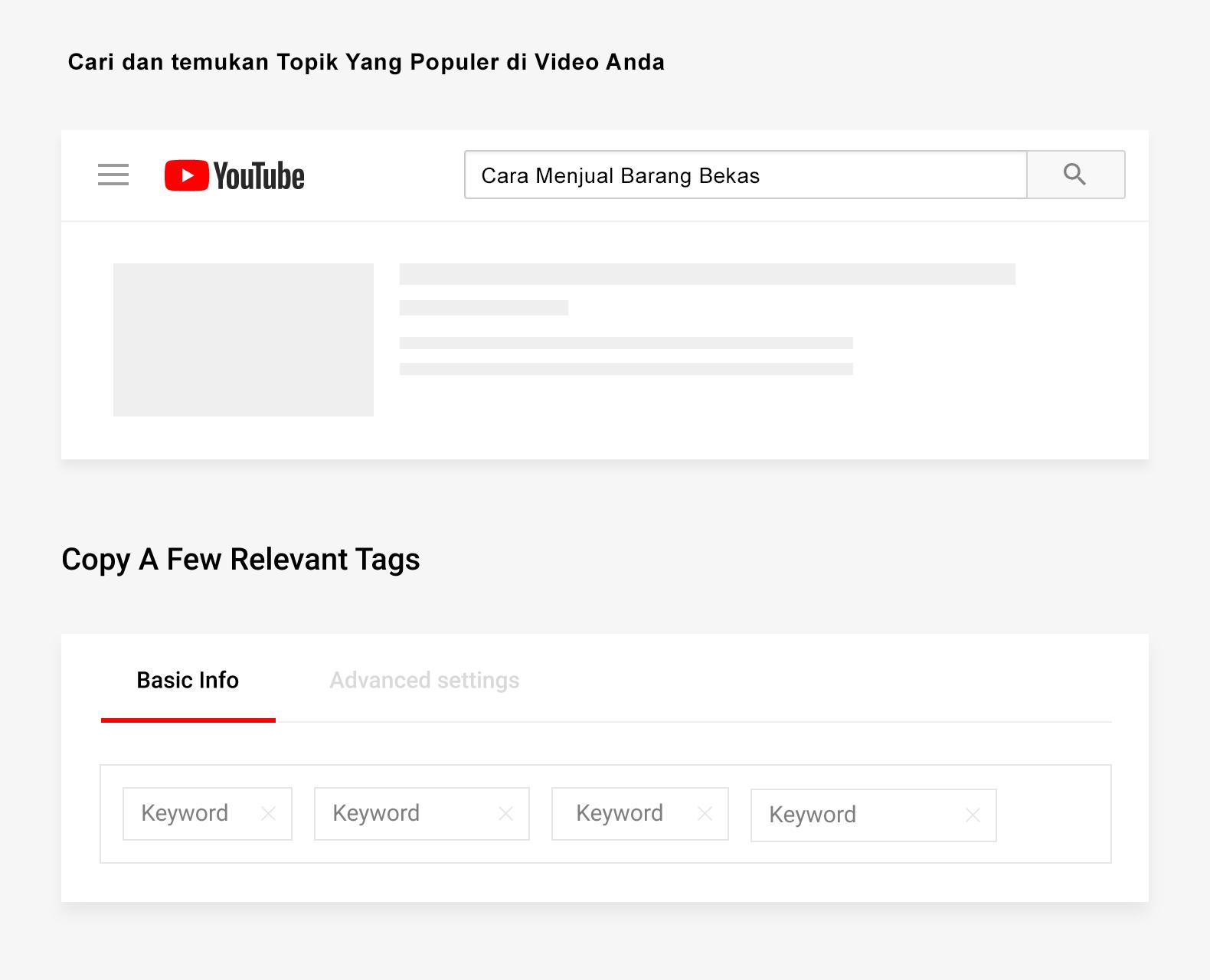 Cara Membuat Tags Video YouTube dengan copy tag
