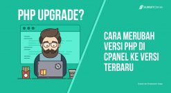 Cara Merubah Versi PHP Di CPanel Ke Versi Terbaru