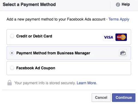 Add Payment Method 25
