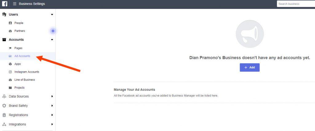 mempersiapkan Ad Account Facebook Ads 12