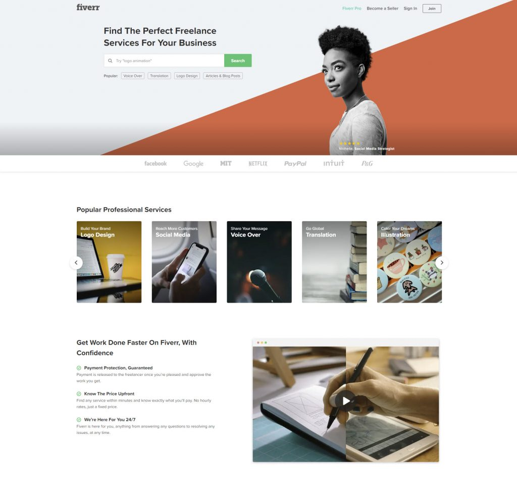 Fiverr untuk freelancer