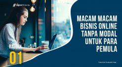 Macam Macam Bisnis Online Tanpa Modal Untuk Para Pemula