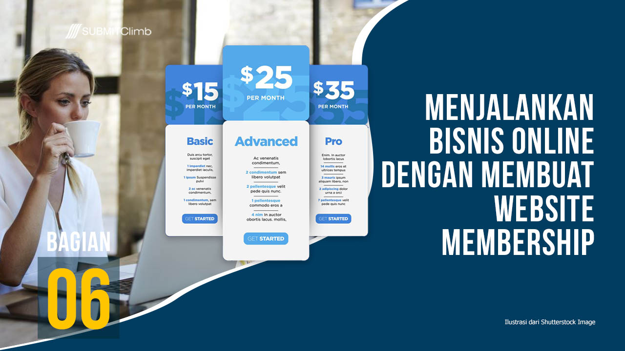 Bisnis Online Dengan Membuat Website Membership