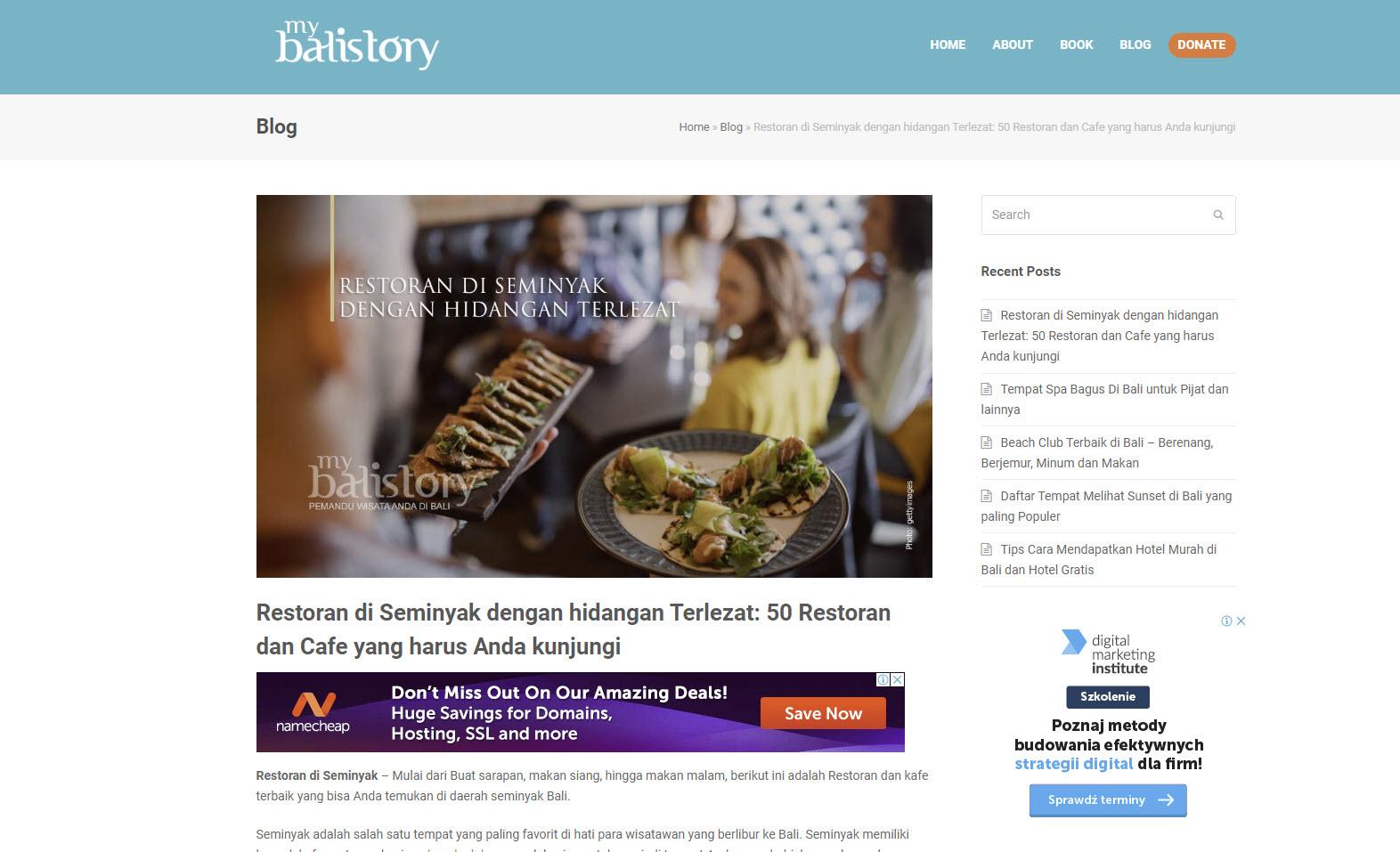 website mybalistory