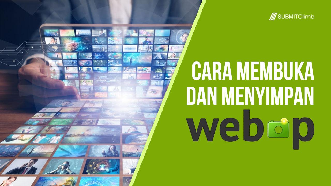 Cara Membuka Dan Menyimpan File WebP Di Photoshop