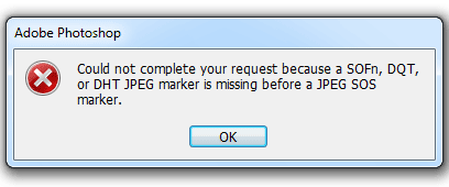 File tidak bisa di buka di Photoshop