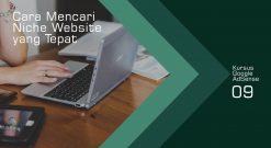 Cara Mencari Niche Website Yang Tepat