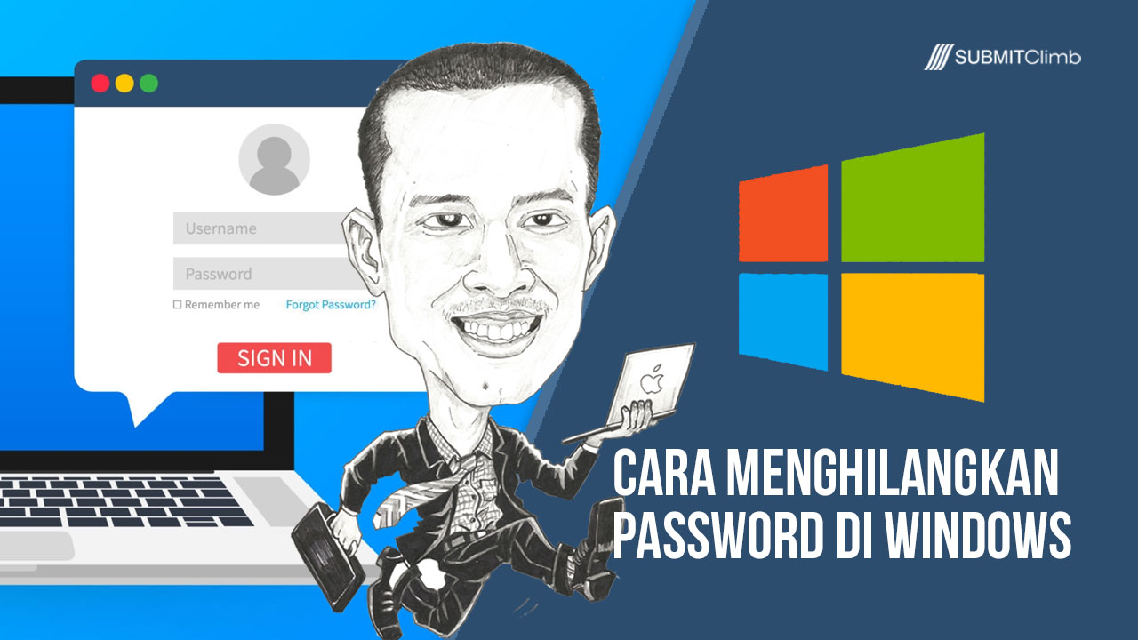 Cara Menghilangkan Password Di Windows