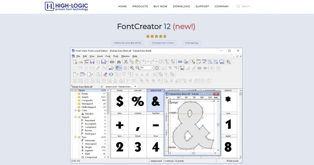 font creator untuk membuat font