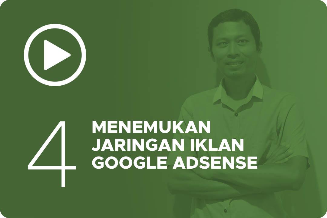 04 Menemukan Jaringan Iklan Google AdSense