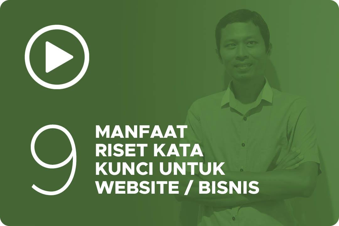 09 Manfaat riset kata kunci untuk website